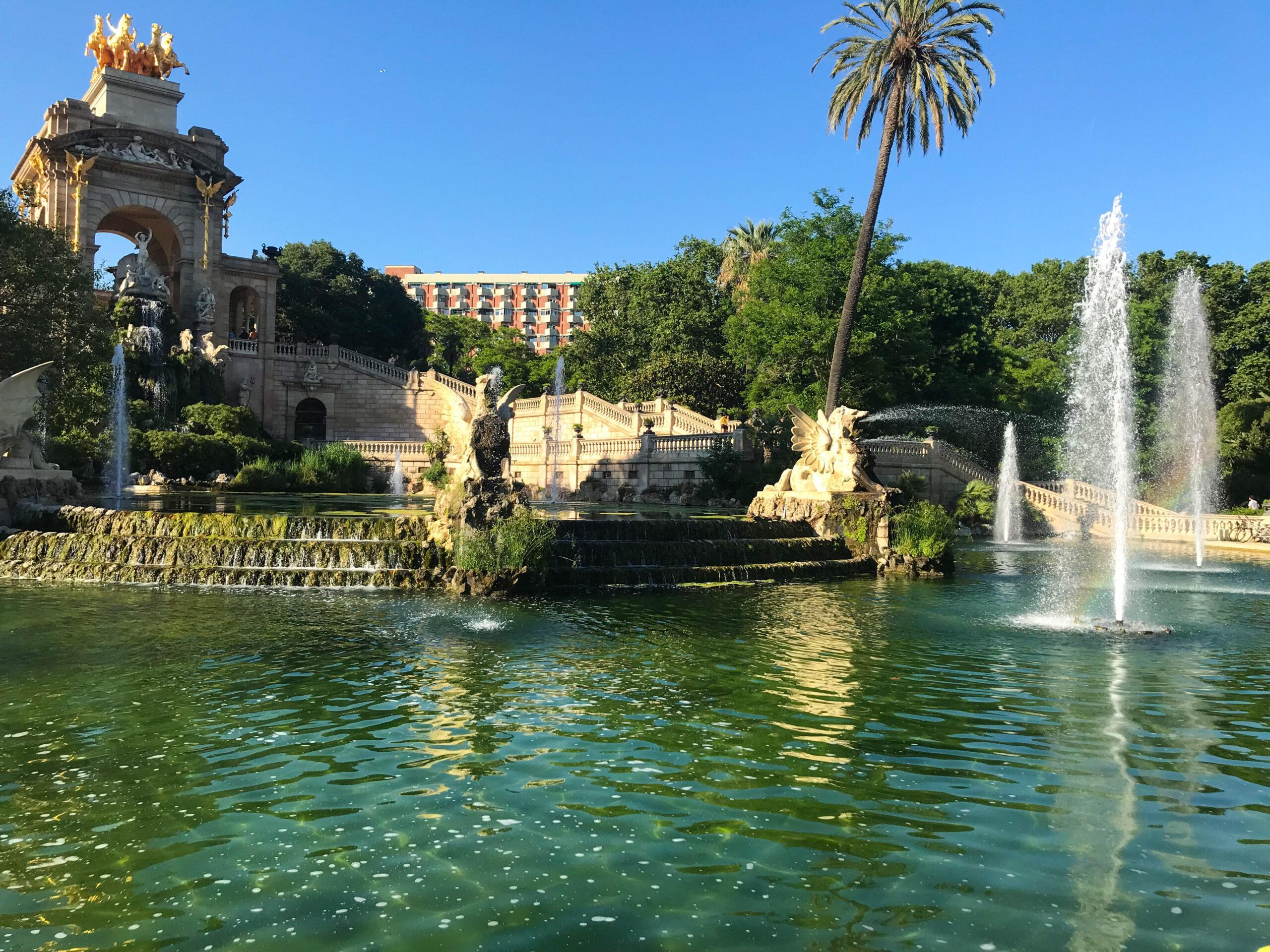 Parc Ciutadella - Barcelone