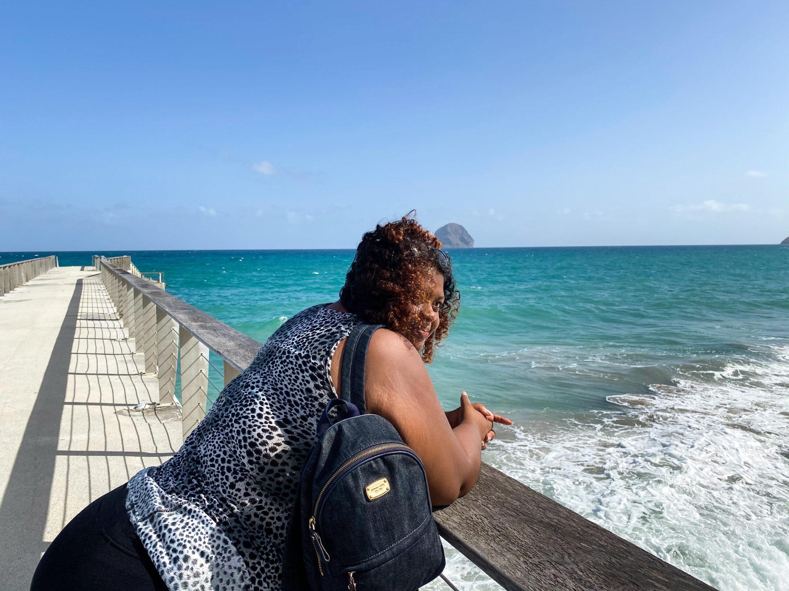 Ponton du Diamant - Martinique