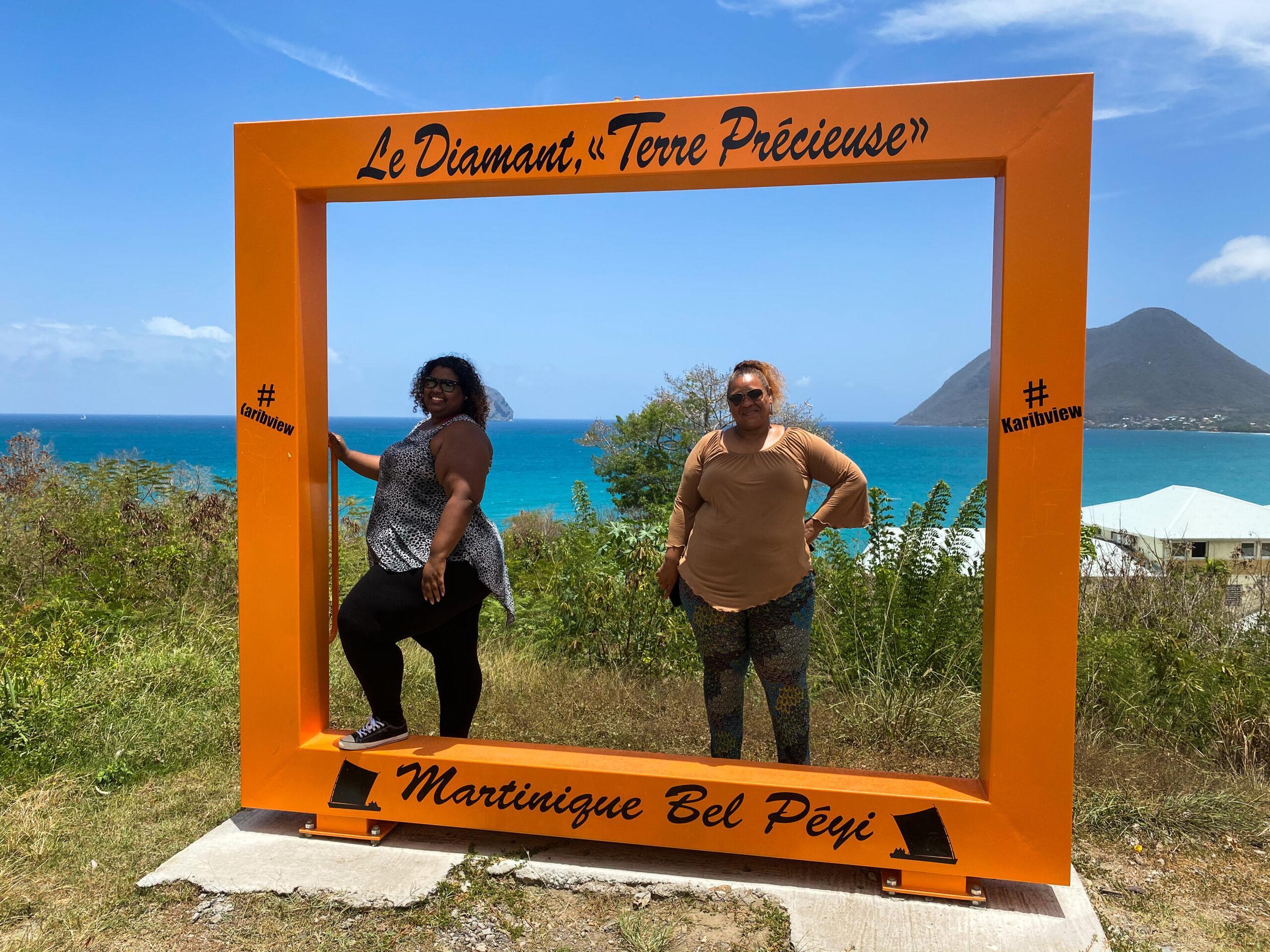 Point de vue entrée du Diamant - Martinique